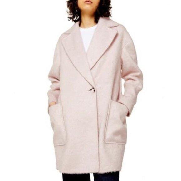 TOPSHOP Carly Long Coat
